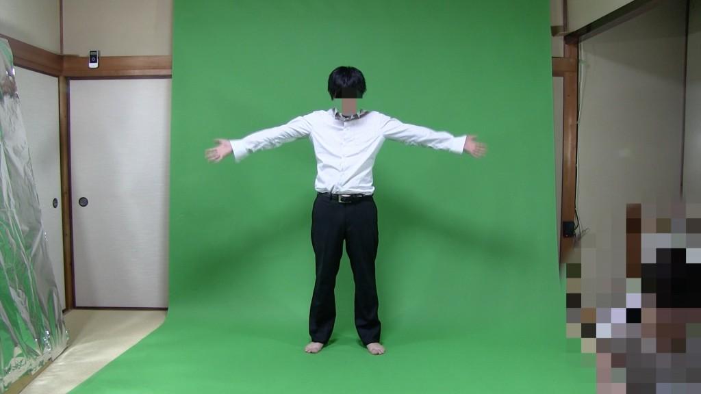 ロールバック紙を使って踊る